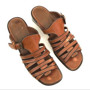 Cole Haan Cognac Sandals